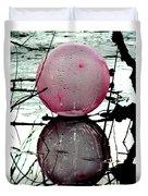 Pink Balloon Reflecting Duvet Cover