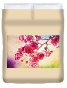 Pink Blossom - Watercolor Edition Duvet Cover