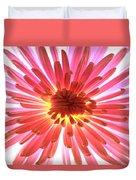 Pink Burst Duvet Cover