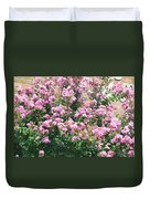 Pink Bush Duvet Cover