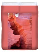 Pink Cleft II - Antelope Canyon Duvet Cover