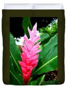 Pink Cone Ginger Duvet Cover