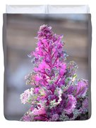 Pink Coned Cabbage Duvet Cover