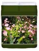 Pink Cosmos Swirl Duvet Cover