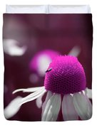 Pink Daisies 1 Duvet Cover