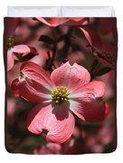 Pink Dogwood At Easter 3 Duvet Cover