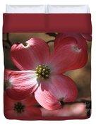 Pink Dogwood At Easter 4 Duvet Cover