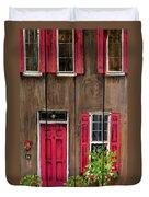 Pink Door Duvet Cover