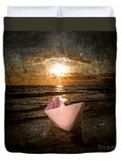 Pink Dreams Duvet Cover by Stelios Kleanthous