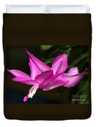 Pink Easter Cactus Duvet Cover