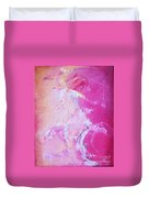 Pink Moving Duvet Cover