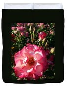 Pink Flaminco Rose 2 Duvet Cover