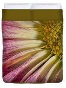 Pink Flower Macro Duvet Cover