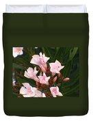 Pink Flowers Duvet Cover