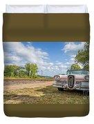 Pink Ford Edsel  Duvet Cover