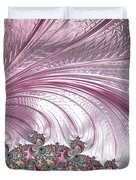 Pink Froth A Fractal Abstract Duvet Cover