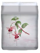 Pink Fuchsia's  Duvet Cover