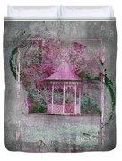 Pink Gazebo Duvet Cover