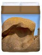 Pink Granite Lighthouse Duvet Cover