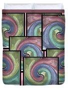 Pink Healing Duvet Cover