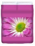 Pink Hope Duvet Cover