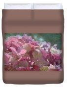 Pink Hydrangea Photoart I Duvet Cover