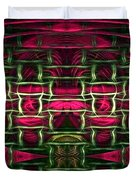 Pink Illusion Duvet Cover