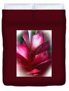 Pink Journey Impasto Duvet Cover