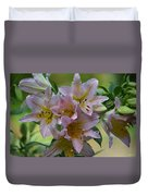 Pink Lily Fantasia Duvet Cover