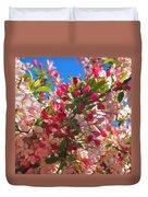 Pink Magnolia Duvet Cover by Joann Vitali