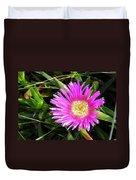 Pink Mesembryanthemum  Duvet Cover