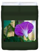 Pink Morning Glory Duvet Cover