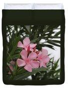 Pink Oleander 4 Duvet Cover