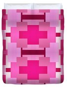 Pink On Pink 2 Duvet Cover