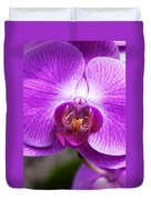 Pink Orchid Detail Duvet Cover
