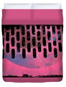 Pink Perfed Duvet Cover