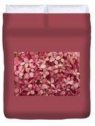 Pink Petal Duvet Cover