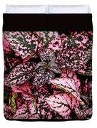 Pink - Plant - Petals Duvet Cover