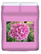 Pink Phlox 2 Duvet Cover