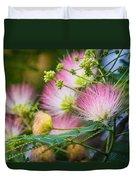 Pink Pom Poms Duvet Cover