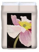 Pink Poppy Duvet Cover