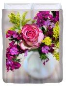 Pink Power Duvet Cover