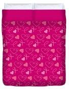 Pink Ribbons  Duvet Cover