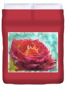 Pink Rose - Digital Paint II Duvet Cover