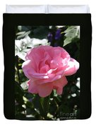 Pink Rose Duvet Cover