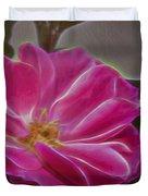 Pink Rose Digital Art 2 Duvet Cover