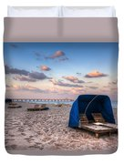 Pink Sands Duvet Cover