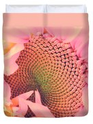 Pink Sunflower Duvet Cover