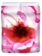 Pink Tourmaline Palm Springs Duvet Cover by William Dey