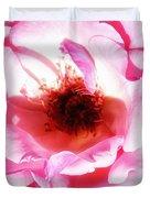 Pink Tourmaline Palm Springs Duvet Cover